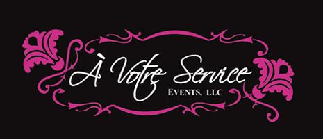 À Votre Service Events Company Logo