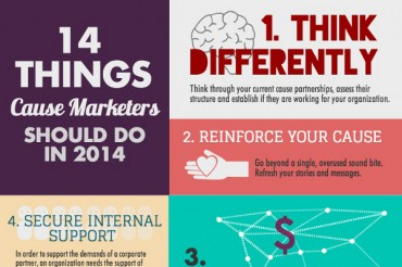 14 Ways to Succeed at Cause Marketing