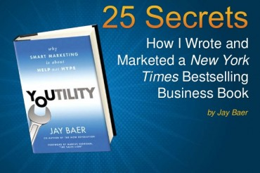 25 Secrets to Writing a Best Selling Business Book