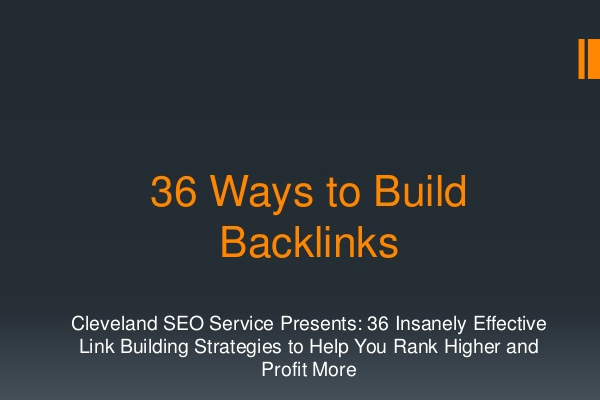 36 Best Link Building Strategies that Still Work