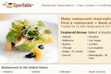 4 Opentable Competitors