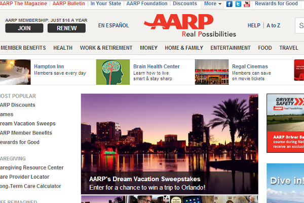 5 Top AARP Competitors