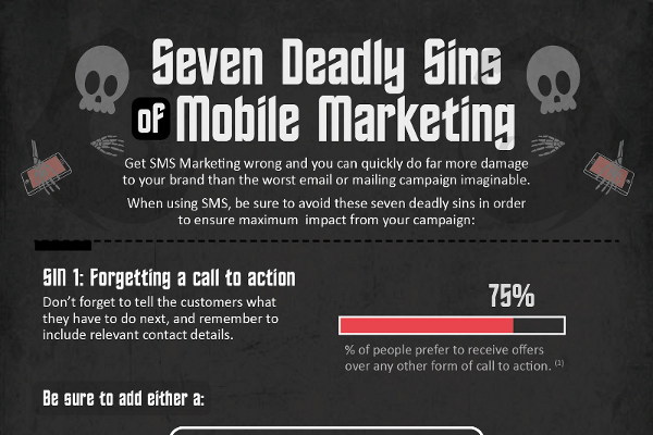 7 Mobile Marketing Sins to Avoid