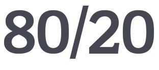 80/20 Company Logo