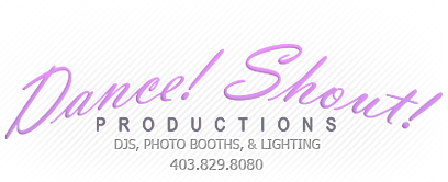 Dance! Shout! Productions Company Logo
