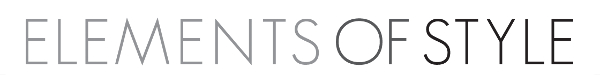 Elements of Style Company Logo