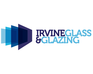 Irvine Glass & Glazing Company Logo