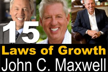 John Maxwell's 15 Laws of Personal Growth