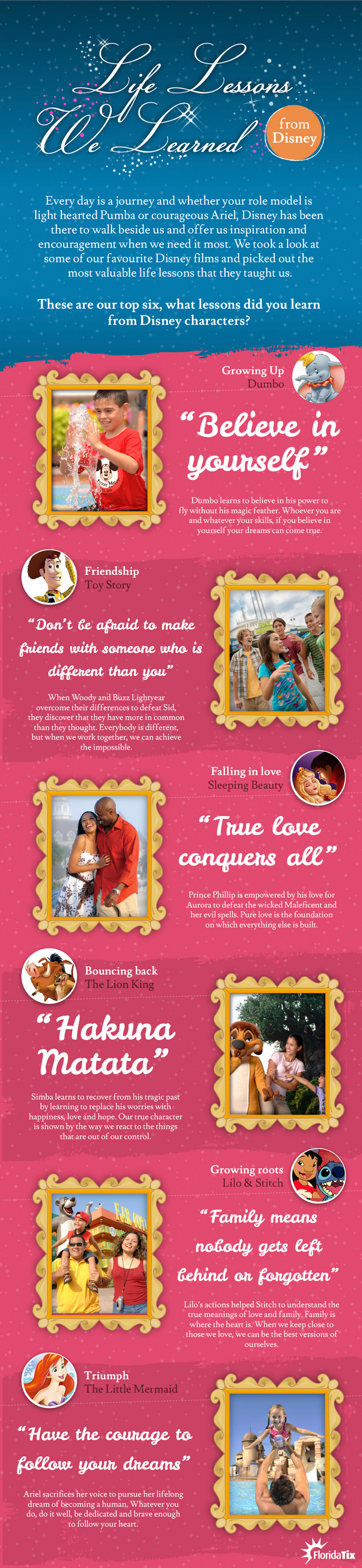 The Lessons Learned from Disney Movies