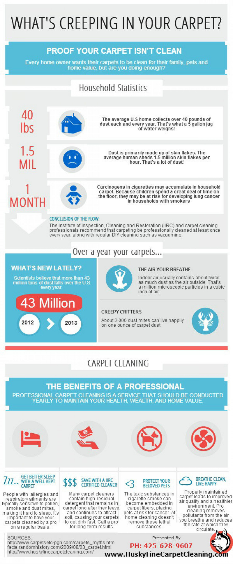 Interesting Carpet Care Facts