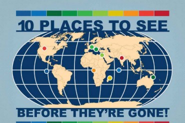 10 Places to Visit Before They Dissappear