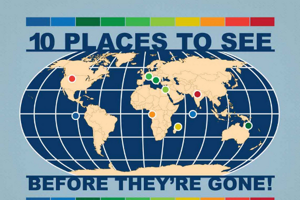 10 Places to Visit Before They Dissapper