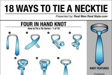 18 Cool Ways to Tie Ties