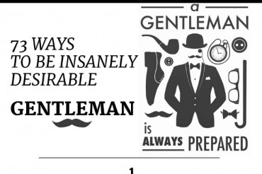 The Perfect Guide to Being a Gentleman