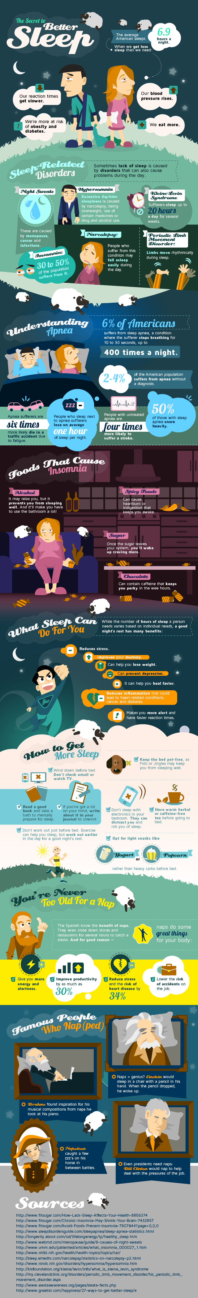 Tips to Getting a Better Sleep