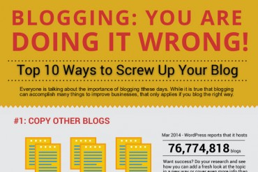10 Things to Avoid When Blogging