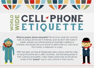 How Cell Phone Etiquette Differs Across the World