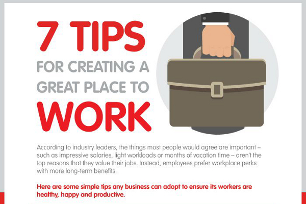 7 Ways to Create a Happy Workplace