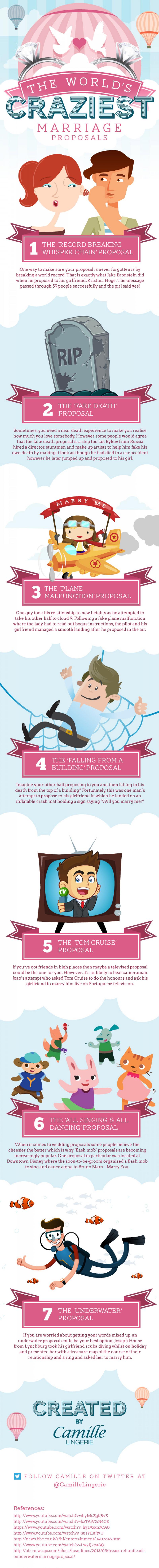 Crazy Marriage Proposals