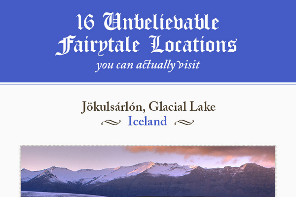 16 Real Places Where Fairytales Are Based On