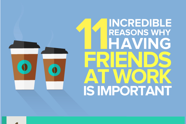 Why Having Friends at Work is Important