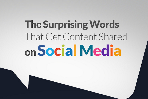27 Words that Get the Most Shares on Social Media