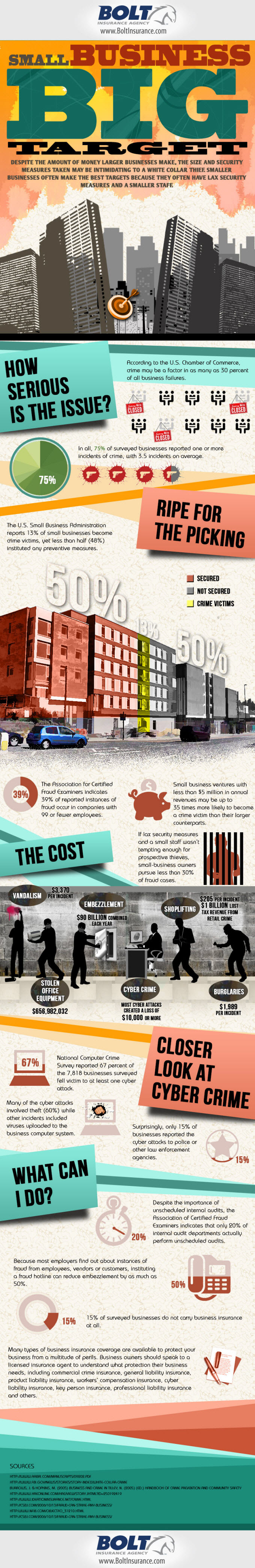 Interesting Facts About Small Business Crime in the US