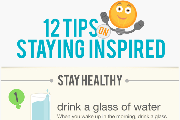 12 Great Ways to Get Inspired