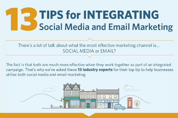 13 Ways to Integrate Social Media and Email Marketing