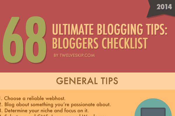 68 Fantastic Blogging Tips and Tricks