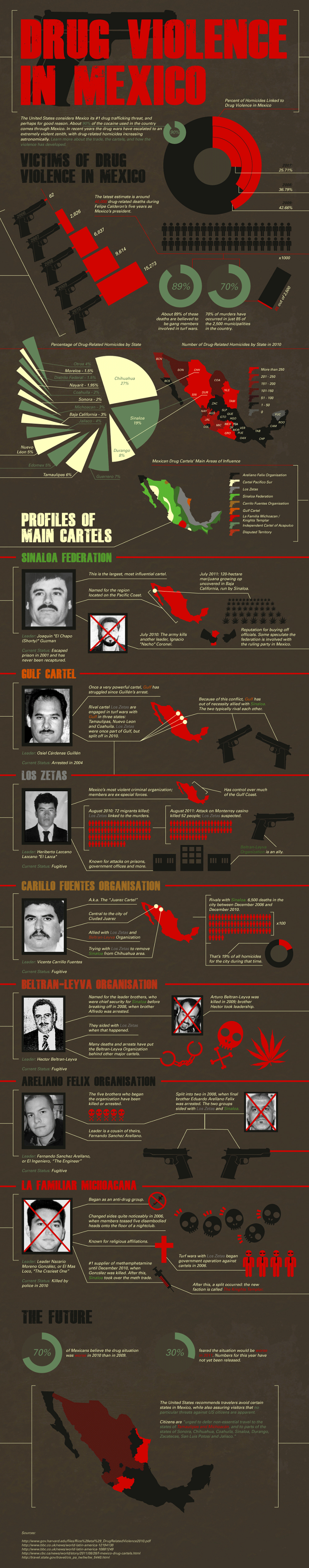 Rise of Drug Violence in Mexico