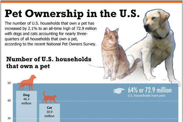 More Dog Owners Or Cat Owners In The Usa
