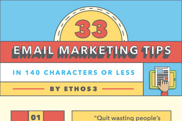 33 Exceptional Email Marketing Tips
