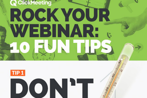 10 Awesome Webinar Presentation Tips
