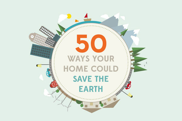 50 Simple Ways You Can Save the Earth