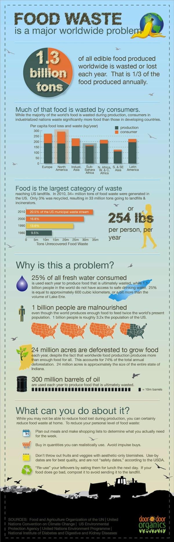 Food Waste Around the Globe