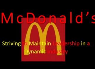 Understanding the Mcdonalds Business Model