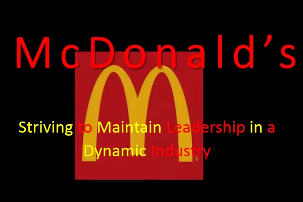 mcdonalds business model