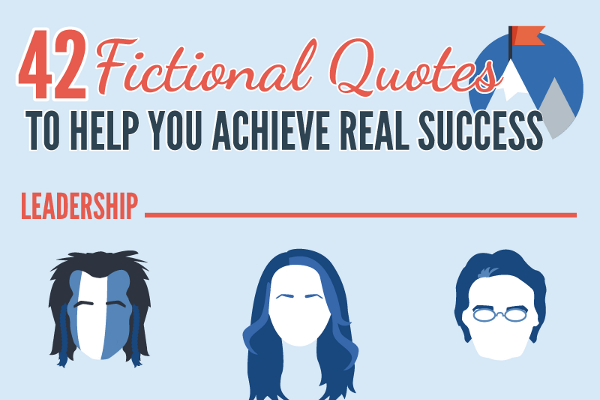 42 Awesome Success Quotes from Fictional Characters