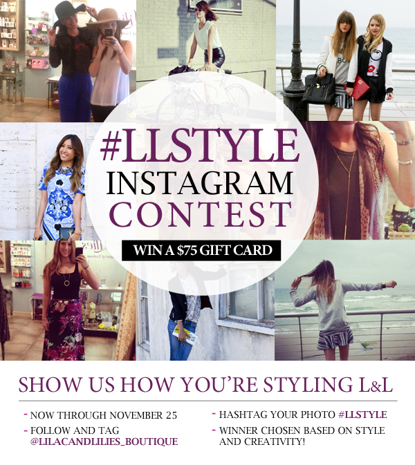 Instagram Contest Example