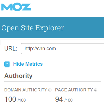Moz Backlink Checker