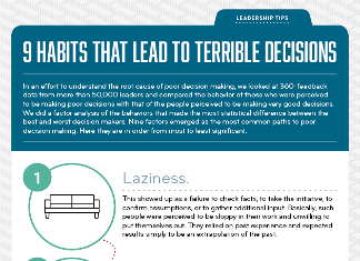 9 Habits that Lead to Bad Business Decisions