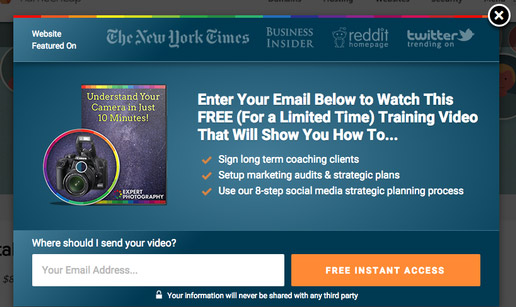 email-pop-up-example-video