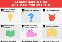 24 Daily Habits that Improve Intelligence