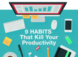 9 Bad Habits that Hurt Productivity