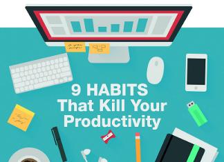 9 Bad Habits that Hurt Productivity