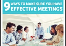 9 Keys to Conducting Effective Team Meetings