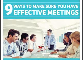 9 Keys to Conducting Effective Team Meetings
