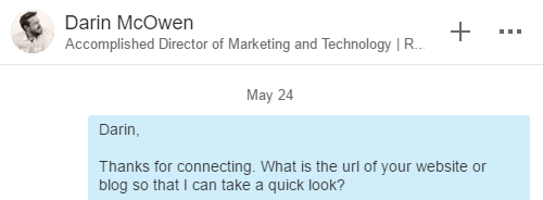 linkedin-above-message