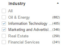 linkedin-search-industry